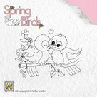 SPB004 Clear stempels Spring Love nellie snellen