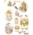 MB0154 Knipvel Matties Mooiste Autumn Birds