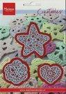LR0380 Creatables snijmal Crochet