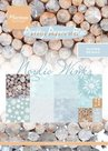 PK9128 Pretty papers bloc Nordic Winter