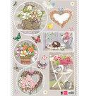 EWK1239 Knipvel Els Wezenbeek Country Style -Hearts