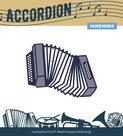 MUSD10003 Snijmal Music serie - Accordeon