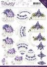 CD10670 Knipvel Congratulations Flowery Collection Precious Marieke