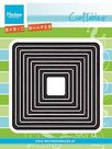 CR1375 Craftables Basic Shapes distressed square snijmallen