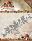 ADD10074 Snijmal  Autumn Moments Leaves Border Amy Design