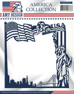 USAD10002 Snijmal America Collection Frame Amy Design