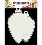 470.713.730 Dutch Doobadoo Card Art Christmas baubles oval