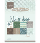 PK9164 Pretty Papers Bloc Winter days by Marleen
