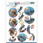 SB10454 3D Push Out - Amy Design - Underwater World - Deepsea Diving