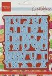 Creatables alphabet garland