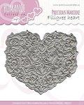 PM10027 Snijmal Precious Marieke Romance - Filigree heart