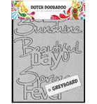 492.002.001 Dutch Greyboard Hello Sunshine