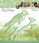 ADD10038 Snijmal Amy Design Animal Medley Parrot