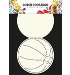 470.713.600 Dutch Doobadoo Card Art Beach Ball
