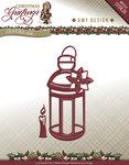 ADD10070 Snijmal Lantern Christmas Greetings Amy Design