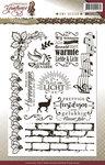 ADCS10009 Stempel teksten Christmas Greetings Amy Design