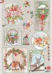 EWK1245 A4 knipvel Els country christmas 1 Marianne Design
