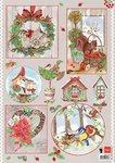 EWK1246 A4 knipvel Els country christmas 2 Marianne Design