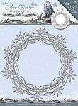 ADD10079 Snijmal Wintertide Ice Crystal Frame Amy Design
