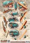 CD10847 3D Knipvel - Amy Design - Vintage Vehicles - Planes