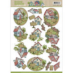 CD10872 Knipvel Yvonne Creations Moving Madness Houses