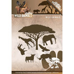 ADD10107 Snijmallen Amy Design wild Animals