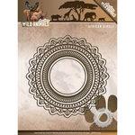 ADD10104 Snijmallen  Amy Design - Wild Animals - African Circles
