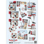 CD10881 3D Knipvel - Amy Design - Maritime - Meeuwen