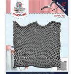 ADD10101 Snijmal Die - Amy Design - Maritime - Fishing Net