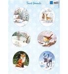 VK9563 Knipvel Forest Animals - Fox