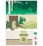 AK0068 Knipvel Eline's Christmas Backgrounds