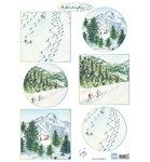IT600 - Knipvel Tiny's winter landschapjes 2