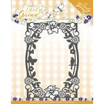 PM10111 Snijmal  Precious Marieke - Early Spring - Spring Flowers Rectangle Frame