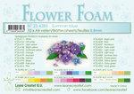 25.4285 Flower foam sheets a4 summer blue