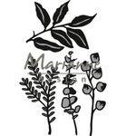 CR1432 Craftables snijmallen Herbs & leaves