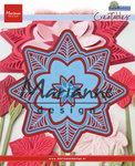 LR0540 Creatables snijmal Petra's botanical star