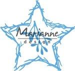 LR0551 Marianne Design Creatables Natuur ster
