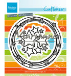 CR1447 Craftables snijmal Circle & stars