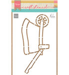 PS8022 Craftstencil Wheelbarrow by Marleen
