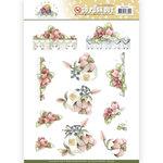 SB10354 3D Pushout Precious Marieke Blooming Summer - Flowers