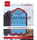 LR0616 Creatables snijmal Brocante label