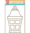 PS8039 Craft stencil Lantern by Marleen