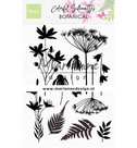 CS1048 Clearstamps Colorful Silhouette - Botanical