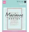 DF3454 Designfolder Karin Joan's Letter Board