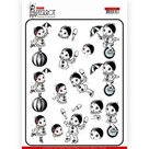 CD11468 3D knipvel Yvonne Creations - Petit Pierrot - At the Circus