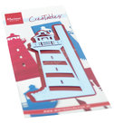 LR0661 Creatables snijmal Gate Folding - Light house
