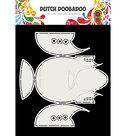470.713.787  DDBD Card Art Babyshoes 2 set