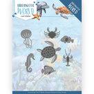ADD10212 Dies - Amy Design - Underwater World - Ocean Animals