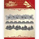PM10186 Dies - Precious Marieke - Touch of Christmas - Christmas Borders
