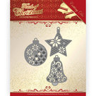 PM10185 Dies - Precious Marieke - Touch of Christmas - Christmas Baubles